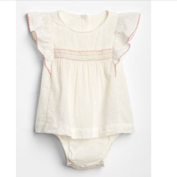 0b54e760856 GAP Other - Baby Gap Girls Ruffle Onesie 0-3 months